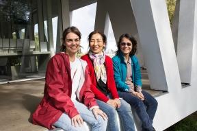 Eveline Costa, Hisako Miura e Jadranka Andjelic